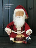 Santa on Drum