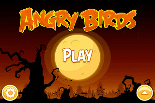 Angry Birds Halloween - Touch Screen Game