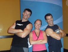 Robert, Melissa and Tony Horton