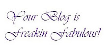 Freakin Fabulous Blog Award