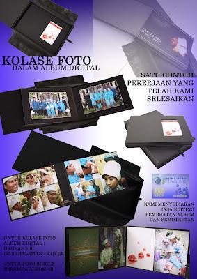 contoh album kolase foto dengan album digital ukuran cetak foto 10r ...