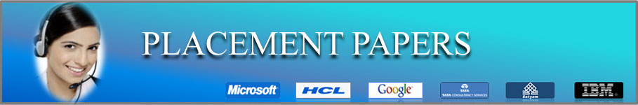 Freshers Jobs and Placement Papers