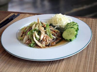 Salade de Poult à la Thaï