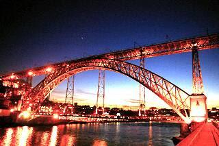 黄昏のドン・ルイス橋