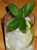 Mojito and fresh mint photo
