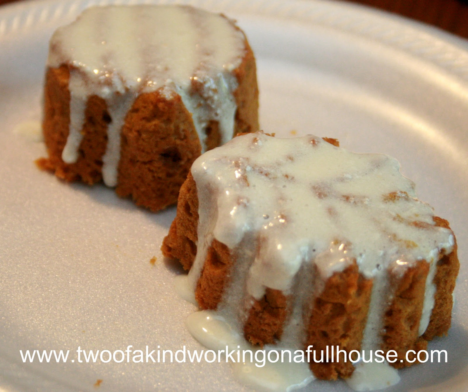 Pumpkin Spice Muffin With Cream Cheese Frosting OR Streusel-Topped ...