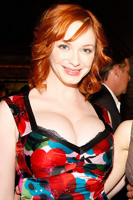 christina hendricks boobs