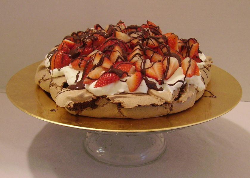 Chocolate Pavlova Recipes — Dishmaps