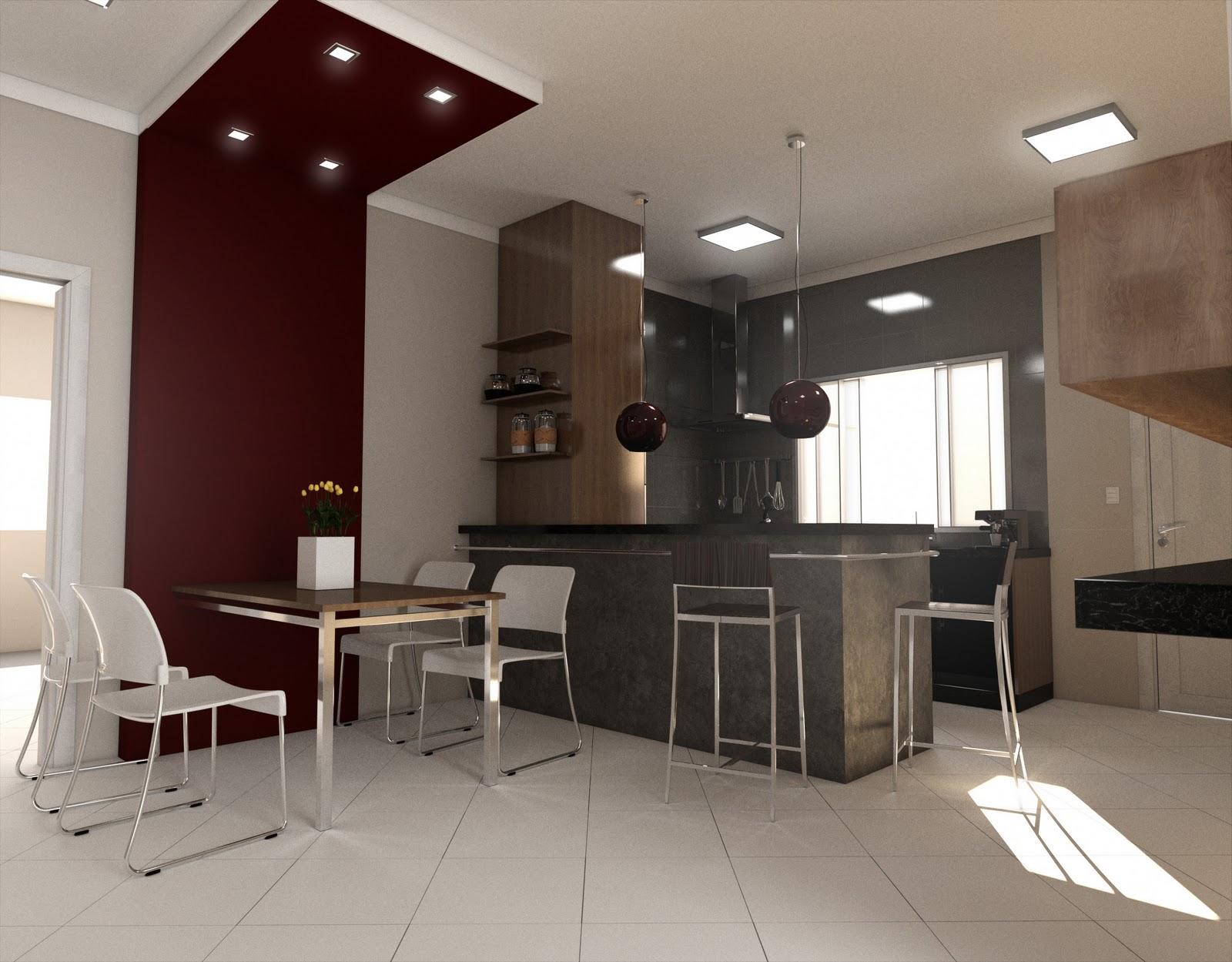 Projeto Cozinha e Jantar Clientes Thiago e Flávia rdzacharias@  #947837 1600 1249