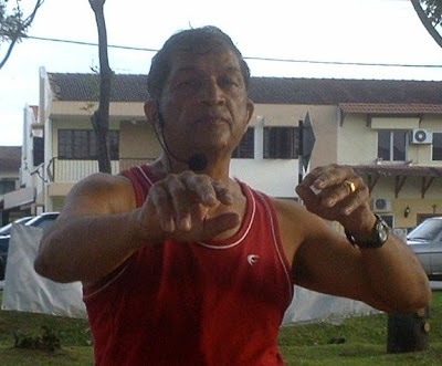 K. Pathmanathan, aerobic exercise instructor