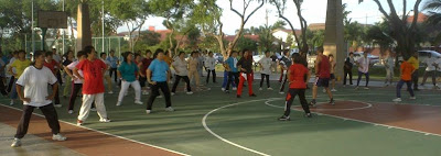 aerobic exercise session in SS3 Petaling Jaya