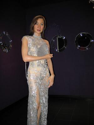 Michelle Yeoh Madame Tusauds wax statue