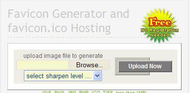 Favicon .ico and code generator
