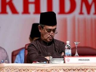 sleeping Abdullah Badawi outgoing Prime Minister