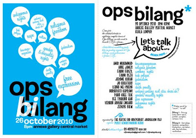 Ops Bilang Flyer in color