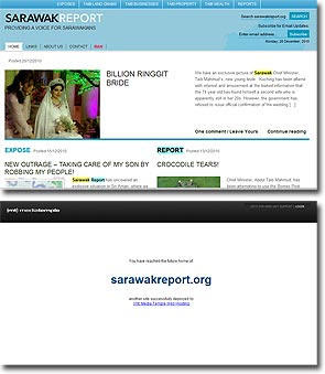 Sarawak Report hacked