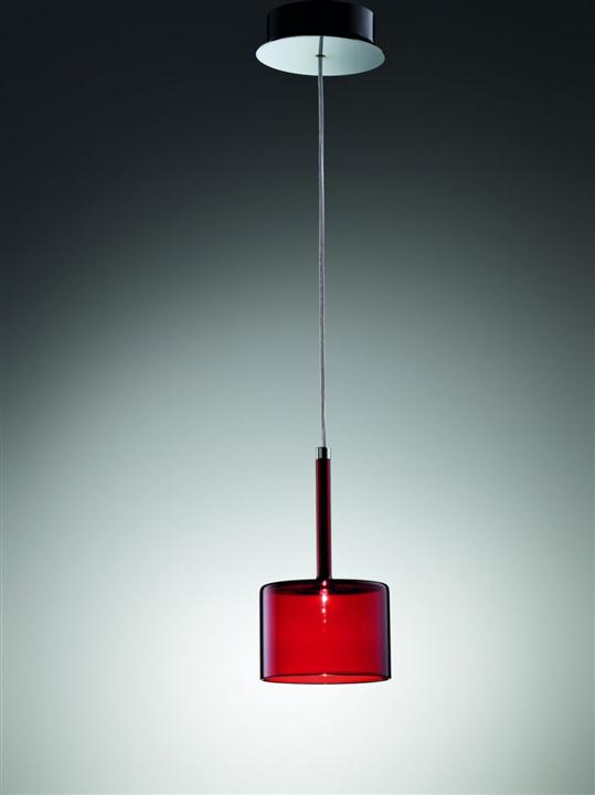 Red Glass Pendant Lights