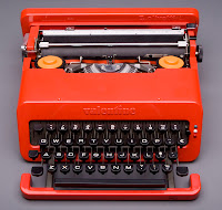 Olivetti typewriter- one of many modern items from the Kravis Collection