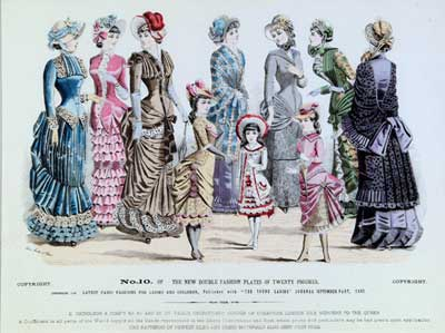 Victorian Fashion  on Thunder   Threads  The Victorian Era  1837 1901