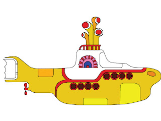 Yellow Submarine Yellow Submarine Stencil