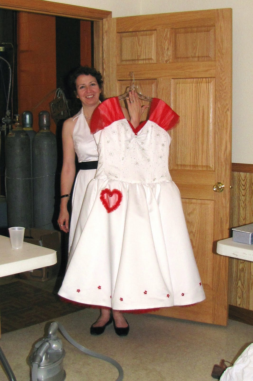 Plus Size Rockabilly 50s Custom Wedding Dress For Sale