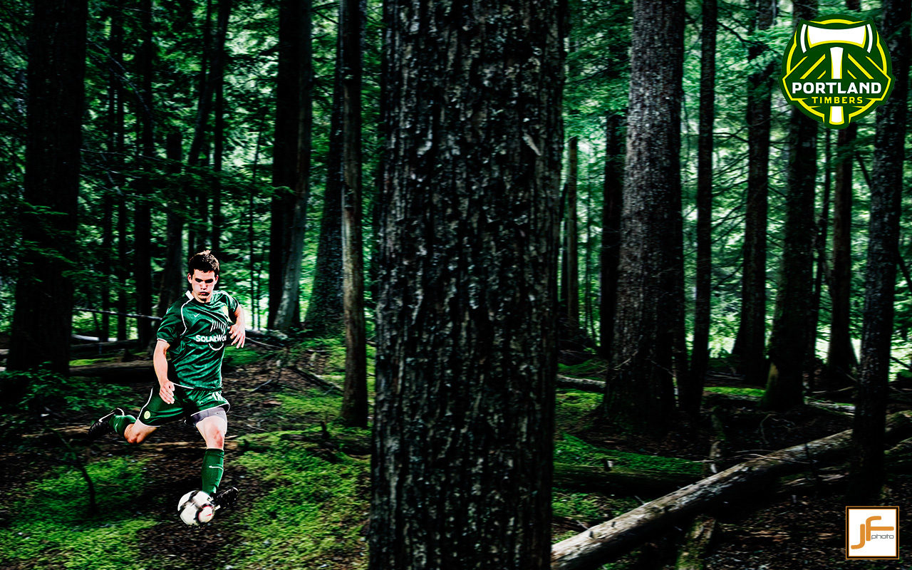 Portland Timbers Pitch W Jon Ferrey Photography