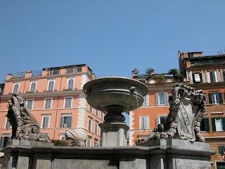 place santa maria in trastevere, trastevere, rome, rome en images, italie