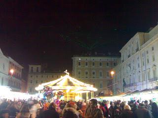 marché de noël, Piazza Navona, rome, rome en images, italie