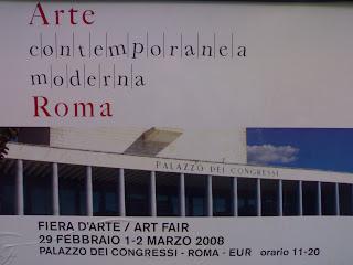 La foire d'art contemporain et moderne de Rome, rome en images, italie