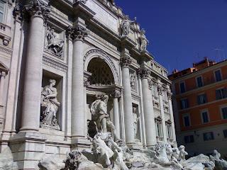 fontaine de trévi, trevi, rome, roma