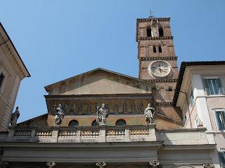 santa maria in trastevere, trastevere, rome, italie, rome en images, sant'egidio