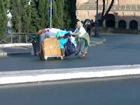 journée mondiale du refus de la misère, lungotevere, rome, rome en images, italie