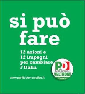 walter veltroni, si puo fare, rome en images, rome, italie