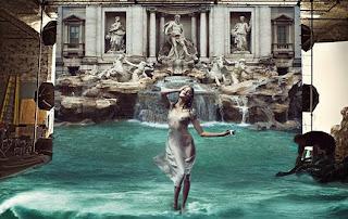 lavazza, annie leibovitz, rome, rome en images, italie