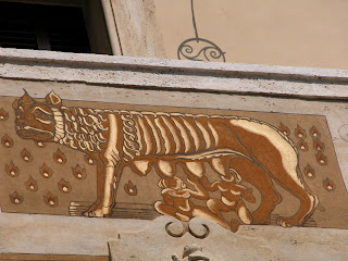 romulus et remus, rome, italie
