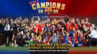 barcelone, victoire, ligue des champions, rome, italie, rome en images