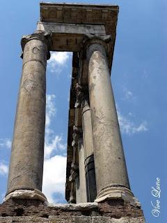 temple de saturne, rome, italie, rome en images