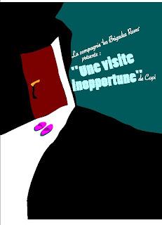 une visite inopportune, copi,théâtre, rome, italie