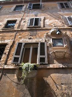 trastevere, rome, italie