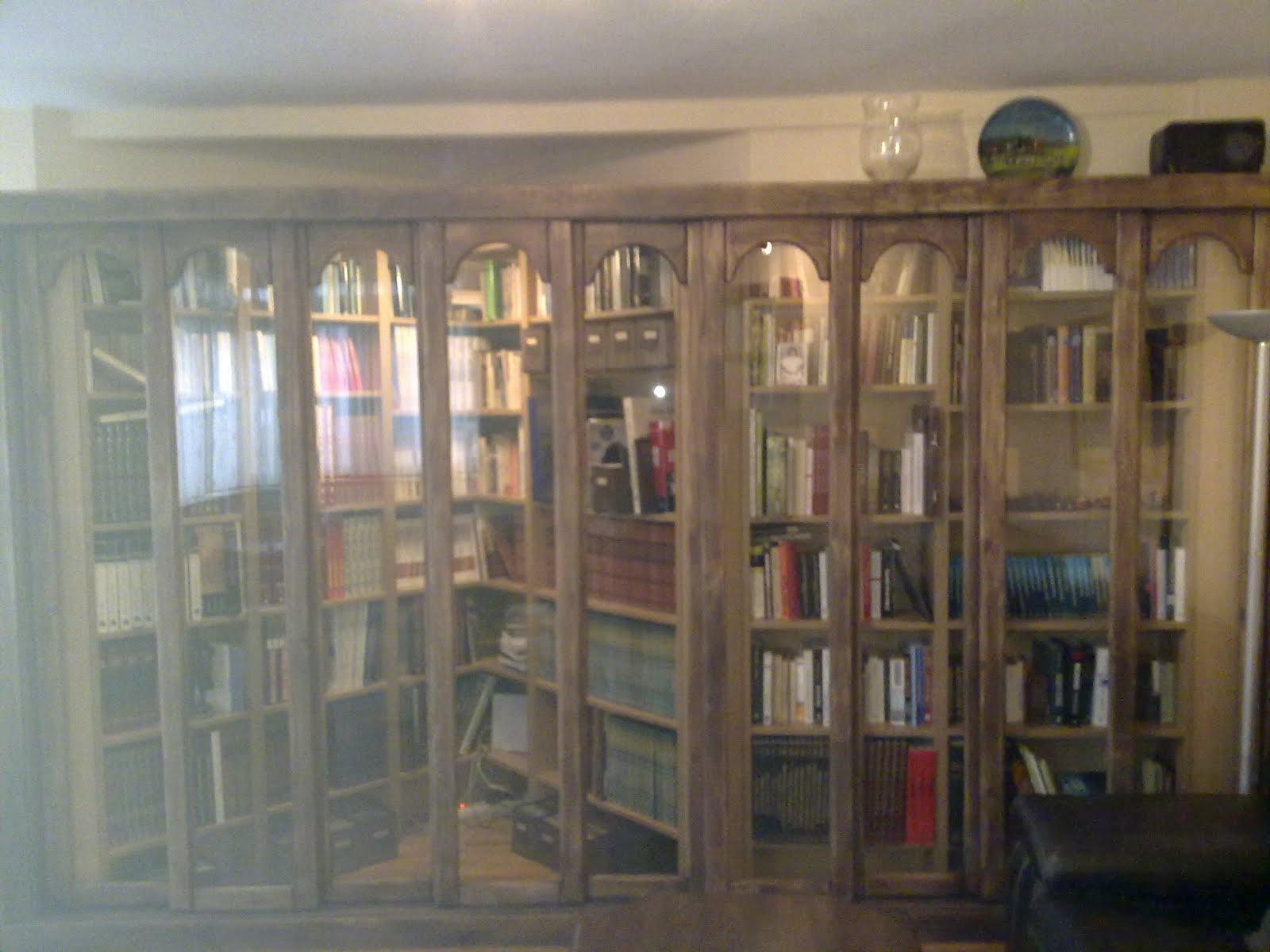 Carpintero Fernando G Calleja Librer As Y Estanterias ~ Libreria Con Puertas De Cristal