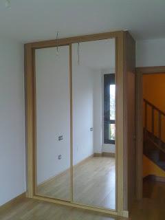 Carpintero fernando g calleja armario corredera y espejo - Como hacer un armario con puertas correderas ...