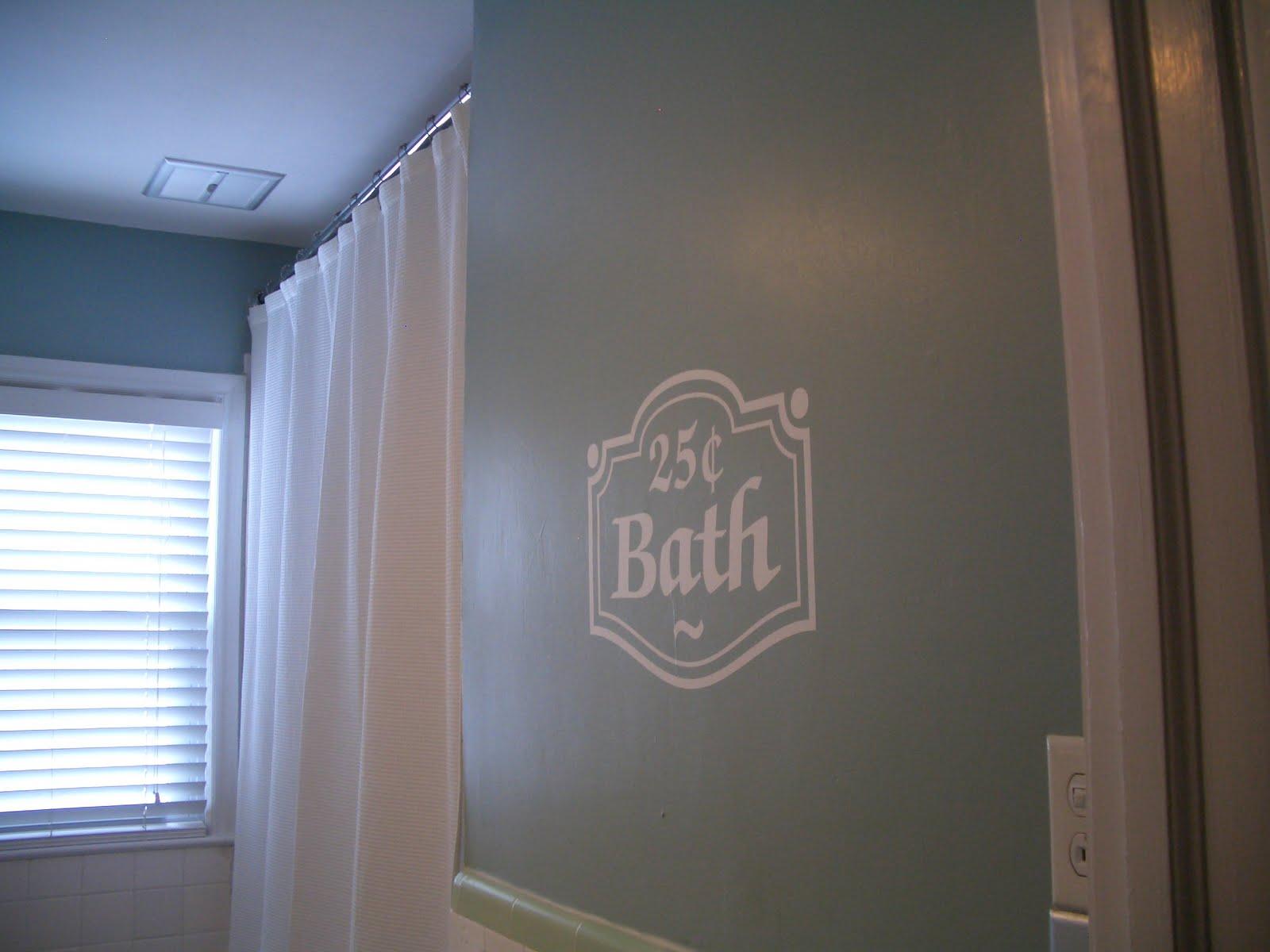 Wall Art: Bathroom Wall Decal