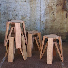 Plantation Tasmanian Oak Stool