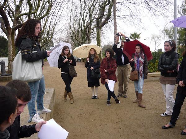 Ruta literària, 25 març 2010 (1r i 2n Bat Arts escèniques IES Gabriel Ferrater, Reus)