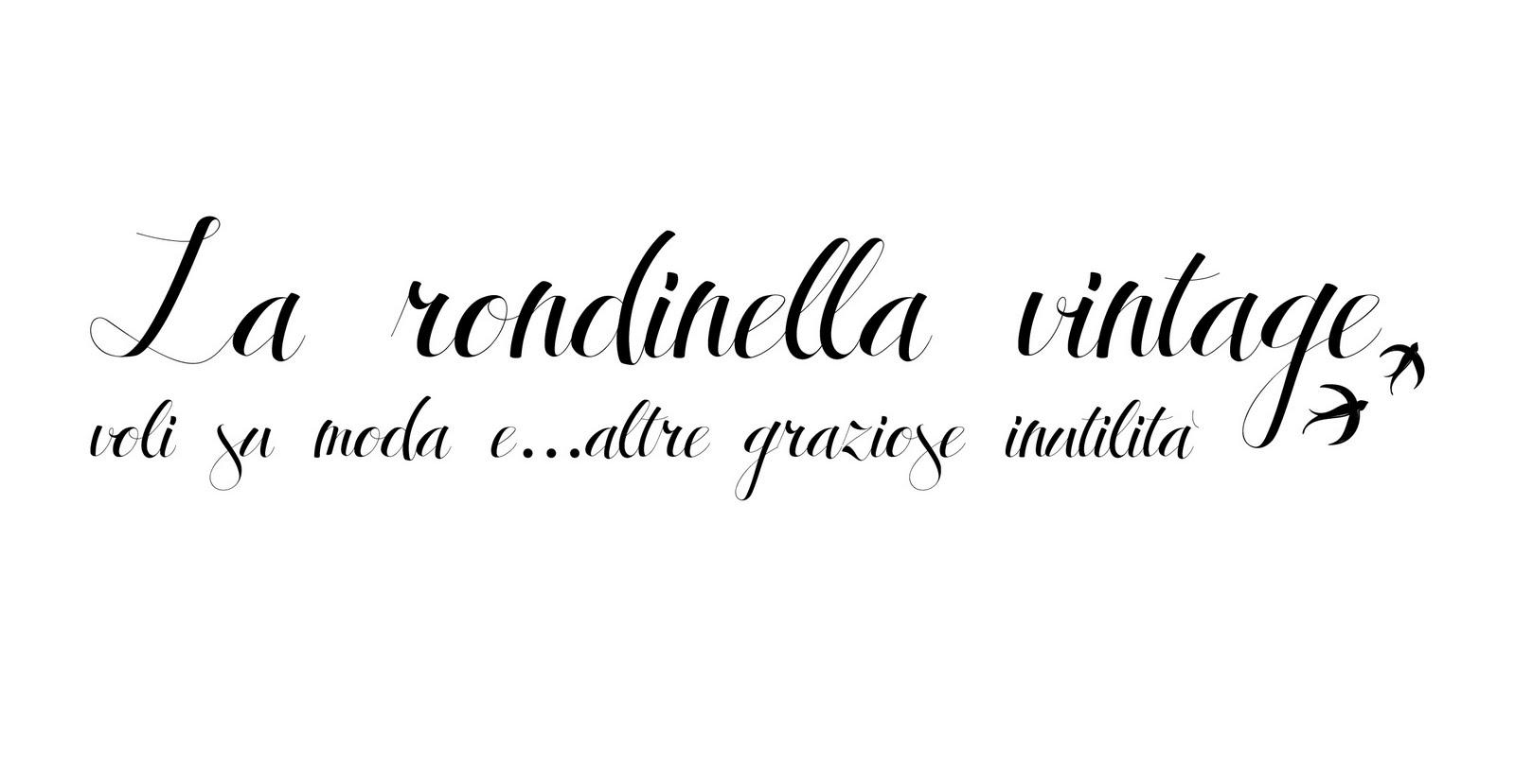la rondinella vintage