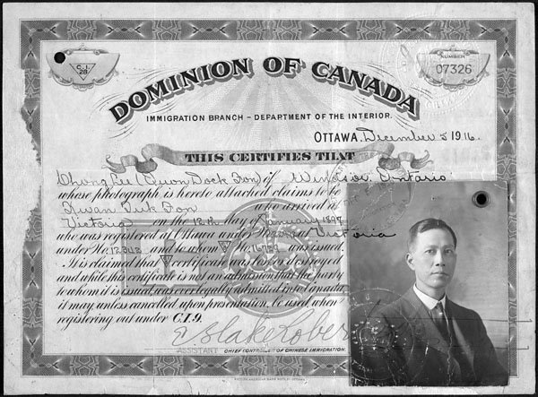 chinese immigration to canada Chinese immigration and the chinese in the united states from 1882 to 1943 the united states government severely curtailed immigration from china to the united states this federal policy resulted from concern over the large numbers of chinese who had come to the united states in response to the need for inexpensive labor, especially for.