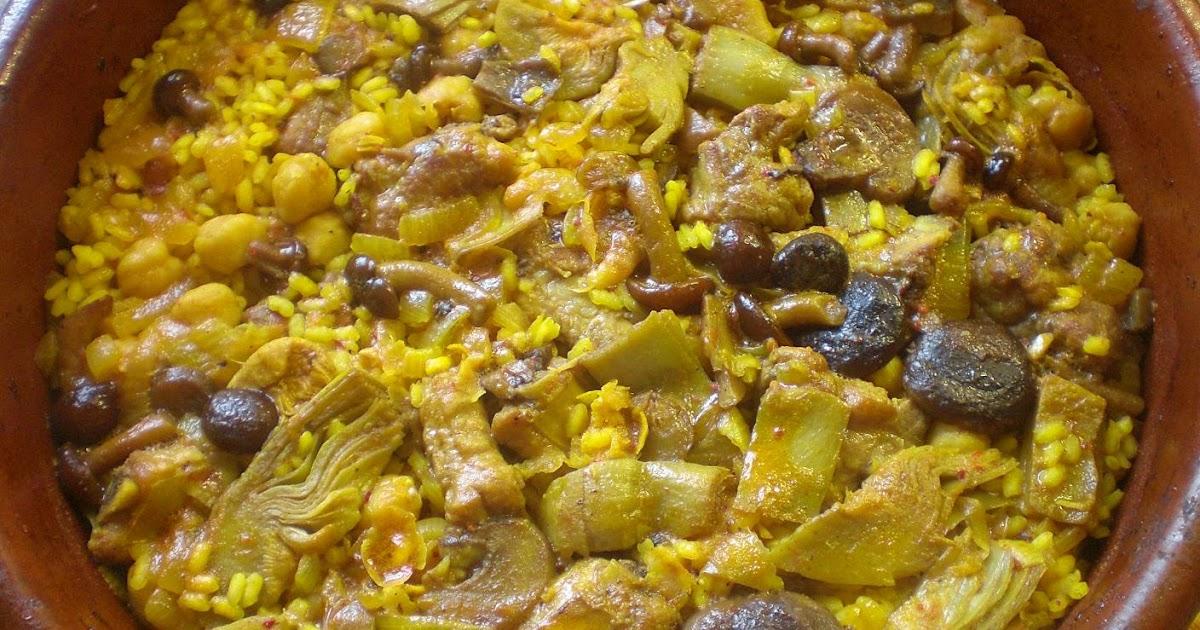 La cocina de anta o arroz con costillas y garbanzos - Garbanzos con costillas ...