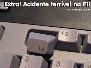 F1 acidente