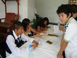 MAS CHICOS CRISTIANOS EN LA RECEPCION DE LA GRADUACION DE LA ESCUELA BIBLICA