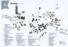 Karta över Campus i Alnarp